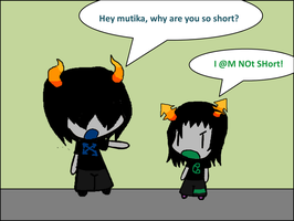 Mutika and Garxia in Welfas Style by Rotommowtom