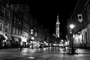 Gdansk by night by martita80