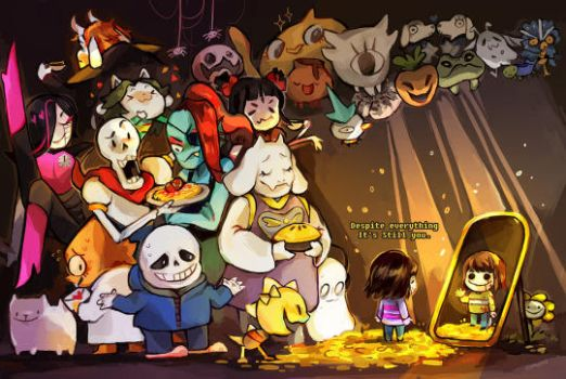 undertale by ohmonah