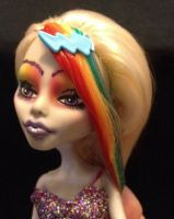 Custom Monster High Doll-Iris by MissGriss