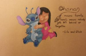 Lilo and Stitch by AngelInTheHeart