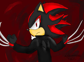 Shadow Wolverine by MsLunarUmbreon