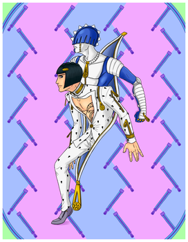 Buccellati and Sticky Fingers by Keikuina
