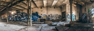 Abandoned Panorama by 5isalive