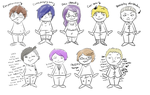 Actual Tokyo Ghoul Character Guide by MeowcatLive