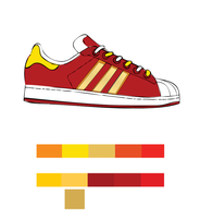 Red and Yellow Superstar by seeker-j