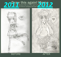 before and after by Chibii-chii
