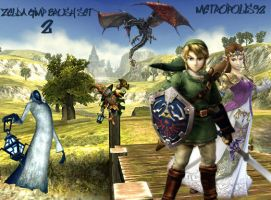 Legend of Zelda GIMP Set 2 by metropolis92