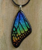 Spectrum Rainbow Glass Wing 2 by FusedElegance