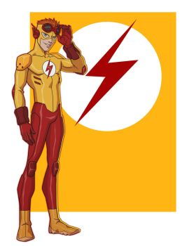 YOUNG JUSTICE: KID FLASH by Jerome-K-Moore