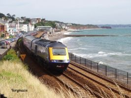 First Great Western 43139 at Dawlish by The-Transport-Guild
