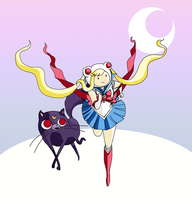 Adventure Time? Fiona and Cake, Moonlite Edt. by ScrapCity
