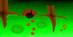 Hollyleaf's Bloody Horowitz by elicra