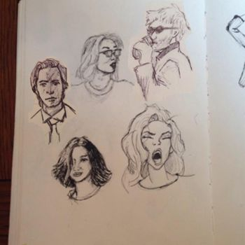 More Sketches by megamind1990