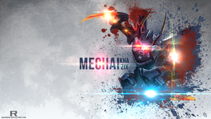 LoL - Mecha Kha'Zix Wallpaper by xRazerxD