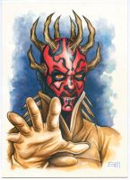 Darth Maul by Erik-Maell
