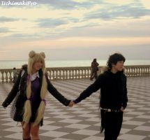 Date - Seiya x Usagi cosplay by uchimakiPro