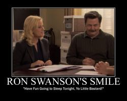 Ron f-ing Swanson by Hailtothechimp