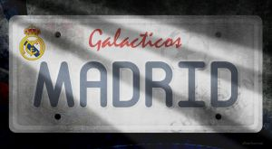 Real Madrid Plate by NorthFac3