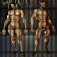 Flesh Golems by selkirk _COLORS_ by carol-colors