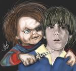 Chucky and Andy by AmandaPainter87