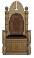 3D Throne Stock 002 by PropandStock