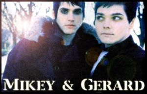 Mikey and Gerard Way by clndstnXcore