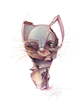 cat balloonist-Smell-O-Scope by xepxyu