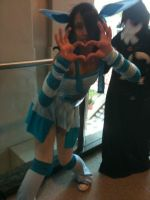 SakuraCon 2012: Glaceon by Fainting-Ostrich