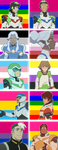 Voltron Icons by asexualallura