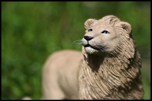 :.White Lion.: by XPantherArtX