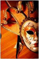 Venetian mask 1 by wildtea