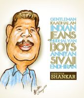 Director Shankar - Caricature by libran005