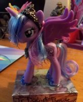 Customized Princess Luna Toy 1 by AngelHuskune