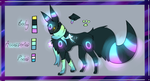 Northern Light Umbreon Auction(CLOSED) by ClockworkVixen