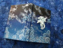 Starry Nightfury Sketchbook by DragonCid