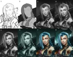 Jinx Process by Visoutre