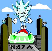 nazo the hedgehog by supersonicartdrawer
