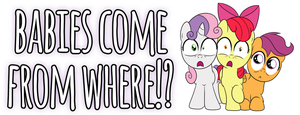 CMC Shocked Design by drawponies
