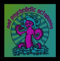 Sad Psychedelic Octopussy by Artby2Heads