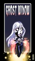 City of Villains: Ghost Widow by kayjkay