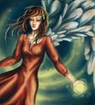 Angel of Christmas by RiverOfConsciousness