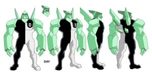 Ben 10 Diamond Head design by Devilpig