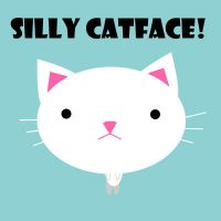 Silly Catface by speedjunkie