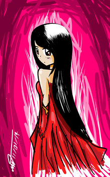 RED Girl by taedesign