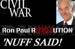 Civil War parody - Ron Paul by LonelyImmortal