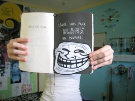 Wreck This Journal: Keep This Page Blank by That-Nerdy-Girl-LAWL