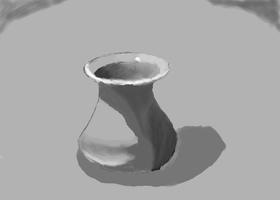 Tonal Study of Vase 2009-02-16 by Songwind