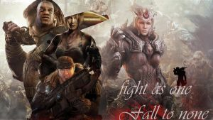 Fight as One, Fall to None by Mrahart