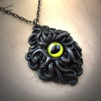 Cyaegha Necklace by CthulhuJewellery